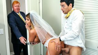 Hınzır Babasının Yeni Karısını Nikahtan Önce Elden Geçiriyor