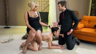 Kocasına Yeni Bir Seks Kölesi Hediye Eden Fantezi Düşkünü